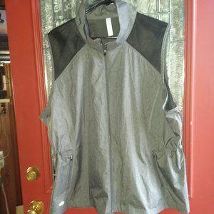 Ideology Gray lightweight vest